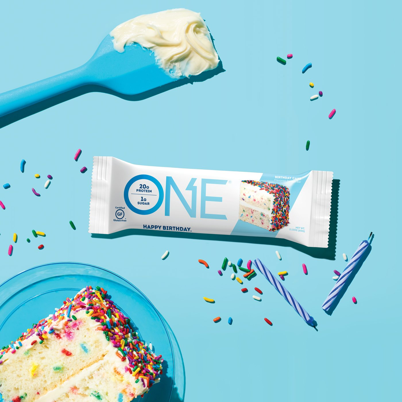 ONE Bars Birthday Cake Protein Bar