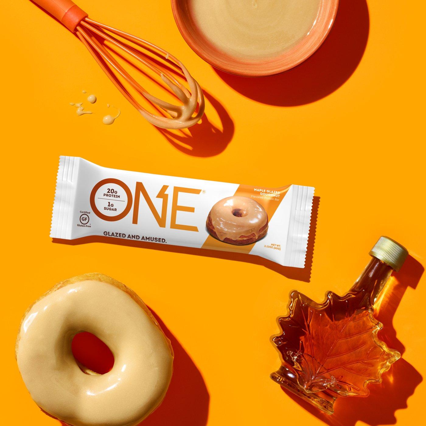 ONE Bars Maple Glazed Doughnut Protein Bar | Glazed And Amused