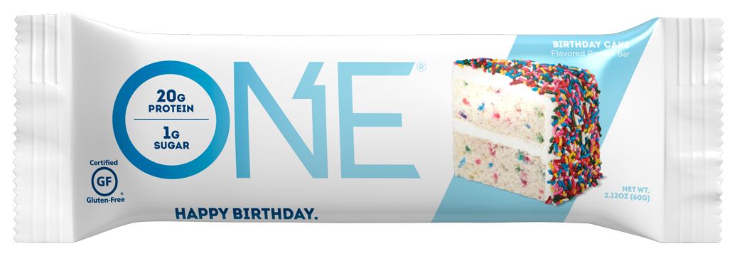 Birthday Cake Protein Bar