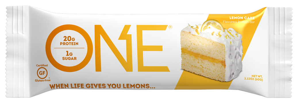 ONE Bars Lemon Cake Protein Bar
