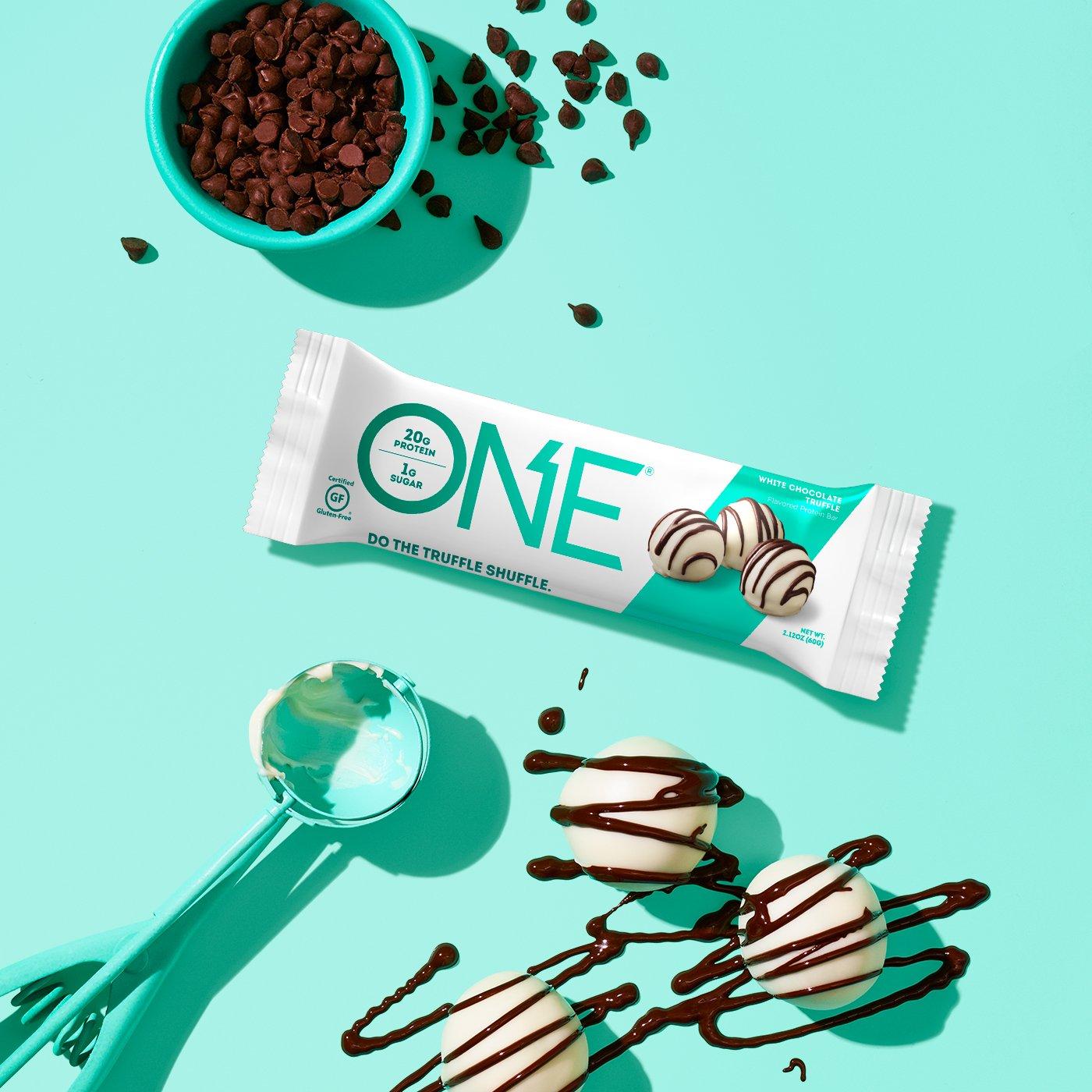 ONE Bar White Chocolate Truffle Protein Bar | Do The Truffle Shuffle