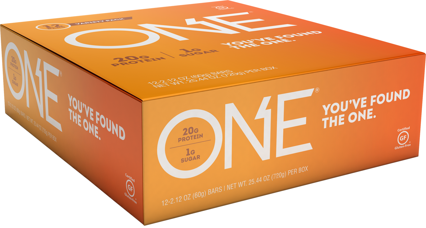 ONE Bar Chocolate Lovers Variety Pack | Box of 12