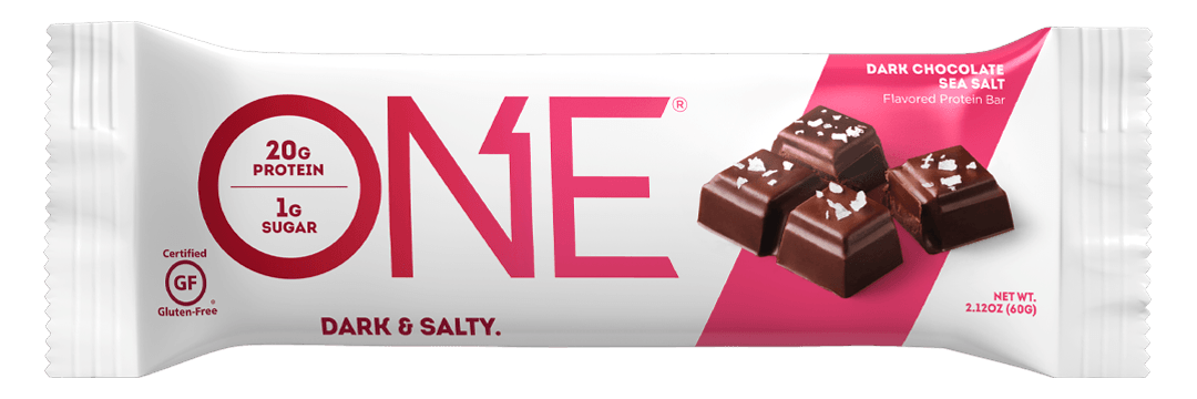 ONE Bar Dark Chocolate Sea Salt Protein Bar