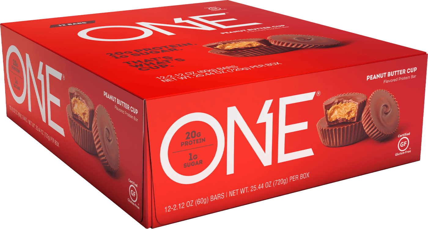 ONE Bar Peanut Butter Cup Protein Bar | Box of 12