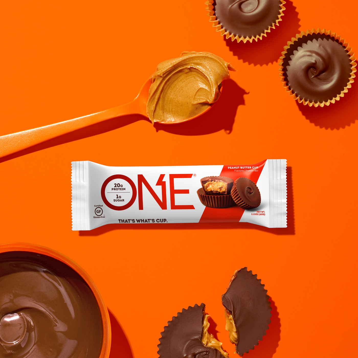 ONE Bar Peanut Butter Cup Protein Bar | That's What's Cup