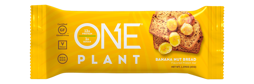 ONE Plant Bars Banana Nut Bread Protein Bar
